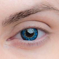 Цветные линзы EOS Sun Flower Blue